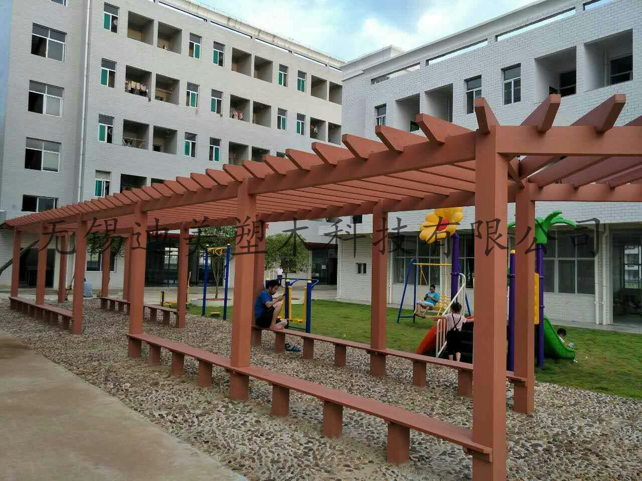 Wood-Plastic Composte Pergola ,Gallery