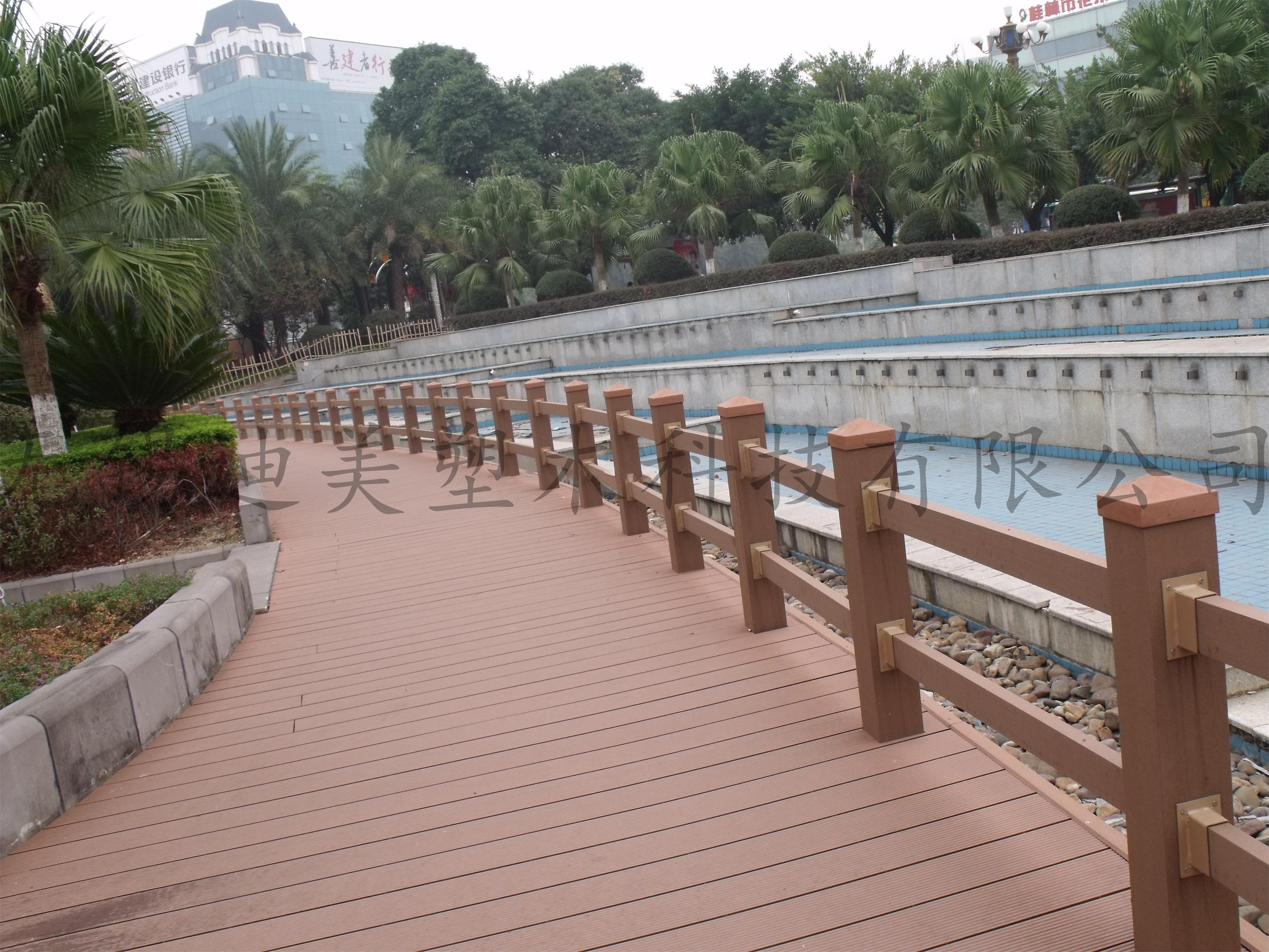 Wood-Plastic Composite Railing,Fencing